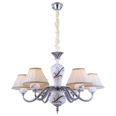 Люстра Arte lamp A2298LM-6CC VeronikaПодвесные<br>Компания «Светодом» предлагает широкий ассортимент люстр от известных производителей. Представленные в нашем каталоге товары выполнены из современных материалов и обладают отличным качеством. Благодаря широкому ассортименту Вы сможете найти у нас люстру под любой интерьер. Мы предлагаем как классические варианты, так и современные модели, отличающиеся лаконичностью и простотой форм. <br>Стильная люстра Arte lamp A2298LM-6CC станет украшением любого дома. Эта модель от известного производителя не оставит равнодушным ценителей красивых и оригинальных предметов интерьера. Люстра Arte lamp A2298LM-6CC обеспечит равномерное распределение света по всей комнате. При выборе обратите внимание на характеристики, позволяющие приобрести наиболее подходящую модель. <br>Купить понравившуюся люстру по доступной цене Вы можете в интернет-магазине «Светодом».<br><br>Установка на натяжной потолок: Да<br>S освещ. до, м2: 16<br>Крепление: Крюк<br>Тип лампы: накаливания / энергосбережения / LED-светодиодная<br>Тип цоколя: E14<br>Количество ламп: 6<br>Ширина, мм: 720<br>MAX мощность ламп, Вт: 40<br>Диаметр, мм мм: 720<br>Длина цепи/провода, мм: 900<br>Высота, мм: 520<br>Цвет арматуры: серебристый хром