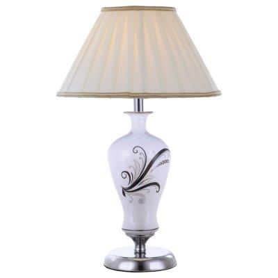 Светильник настольный Arte lamp A2298LT-1CC VeronikaС абажуром<br>Настольная лампа – это не просто источник дополнительного освещения, но и оригинальный элемент декора. Его можно установить в спальне, гостиной, кабинете и других комнатах. Интернет-магазин «Светодом» предлагает настольные лампы разных стилей по доступным ценам. Благодаря большому ассортименту Вы обязательно найдете в нашем каталоге именно ту модель, которую искали.   Настольная лампа Arte lamp A2298LT-1CC – прекрасный вариант для завершения интерьера. Ее можно включить одновременно с люстрой для более яркого освещения или без нее для создания уютной атмосферы, настраивающей на отдых.   Купить настольную лампу Arte lamp A2298LT-1CC Вы можете с помощью виртуальной «Корзины» или по контактным номерам, указанным на сайте.<br><br>S освещ. до, м2: 3<br>Тип лампы: накал-я - энергосбер-я<br>Тип цоколя: E14<br>Количество ламп: 1<br>Ширина, мм: 300<br>Диаметр, мм мм: 300<br>Высота, мм: 500<br>MAX мощность ламп, Вт: 40
