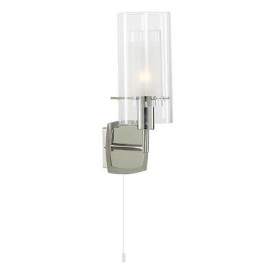 Светильник настенный Arte lamp A2300AP-1CC CascataC выключателем<br><br><br>S освещ. до, м2: 3<br>Крепление: пластина<br>Тип товара: Светильник настенный бра<br>Скидка, %: 66<br>Тип лампы: накаливания / энергосбережения / LED-светодиодная<br>Тип цоколя: E14<br>Количество ламп: 1<br>Ширина, мм: 100<br>MAX мощность ламп, Вт: 40<br>Диаметр, мм мм: 130<br>Длина, мм: 130<br>Высота, мм: 280<br>Цвет арматуры: серебристый