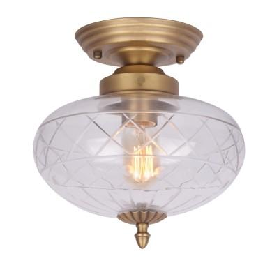 Светильник потолочный Arte lamp A2303PL-1SG Fabergeлюстры потолочные классические<br><br><br>Тип лампы: Накаливания / энергосбережения / светодиодная<br>Тип цоколя: E27<br>Цвет арматуры: МАТОВОЕ золотой<br>Количество ламп: 1<br>Диаметр, мм мм: 260<br>Размеры: D240*130<br>Длина, мм: 260<br>Высота, мм: 270<br>Поверхность арматуры: матовая<br>Оттенок (цвет): золотой<br>MAX мощность ламп, Вт: 40W<br>Общая мощность, Вт: 40W