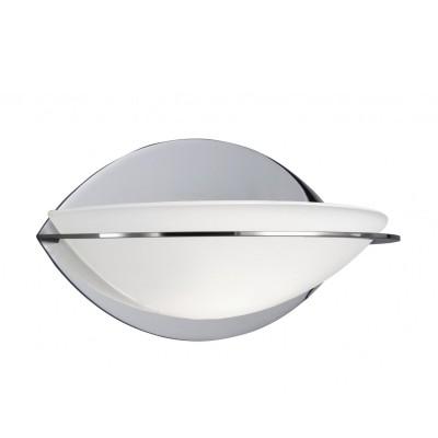 Светильник бра Arte lamp A2316AP-1CC InteriorСовременные<br><br><br>S освещ. до, м2: 3<br>Тип лампы: галогенная<br>Тип цоколя: G9<br>Цвет арматуры: хром<br>Количество ламп: 1<br>Ширина, мм: 170<br>Диаметр, мм мм: 110<br>Расстояние от стены, мм: 110<br>Высота, мм: 90<br>MAX мощность ламп, Вт: 40