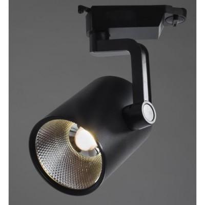 A2330PL-1BK Arte lamp СветильникСветильники для трека<br><br><br>Цветовая t, К: 4000K<br>Тип цоколя: LED<br>Цвет арматуры: ЧЕРНЫЙ<br>Количество ламп: 1<br>Диаметр, мм мм: 120<br>Размеры: ?100*H235<br>Длина, мм: 100<br>Высота, мм: 240<br>MAX мощность ламп, Вт: 30W<br>Общая мощность, Вт: 30W