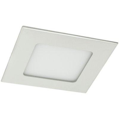 Точечный светильник Arte lamp A2403PL-1WH FineКвадратные LED<br>Встраиваемые светильники – популярное осветительное оборудование, которое можно использовать в качестве основного источника или в дополнение к люстре. Они позволяют создать нужную атмосферу атмосферу и привнести в интерьер уют и комфорт.   Интернет-магазин «Светодом» предлагает стильный встраиваемый светильник ARTE Lamp A2403PL-1WH. Данная модель достаточно универсальна, поэтому подойдет практически под любой интерьер. Перед покупкой не забудьте ознакомиться с техническими параметрами, чтобы узнать тип цоколя, площадь освещения и другие важные характеристики.   Приобрести встраиваемый светильник ARTE Lamp A2403PL-1WH в нашем онлайн-магазине Вы можете либо с помощью «Корзины», либо по контактным номерам. Мы развозим заказы по Москве, Екатеринбургу и остальным российским городам.<br><br>S освещ. до, м2: 1<br>Тип лампы: Светодиодная (LED)<br>Тип цоколя: LED<br>Цвет арматуры: белый<br>Количество ламп: 1<br>Диаметр, мм мм: 90<br>Высота, мм: 25<br>Оттенок (цвет): белый<br>MAX мощность ламп, Вт: 3