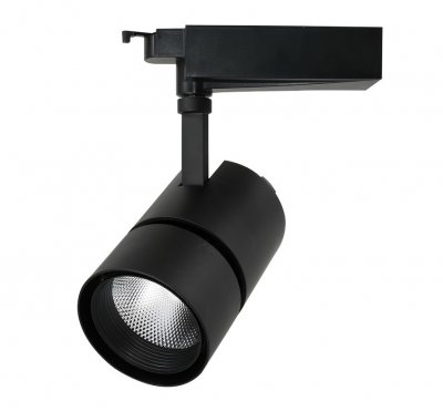 Светильник потолочный Arte lamp A2450PL-1BK TRACK LIGHTSСветильники для трека<br><br><br>Количество ламп: 50<br>Размеры: H20xW10,5xL18,5<br>Цвет арматуры: черный