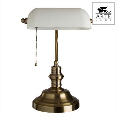 Купить со скидкой Настольная лампа СССР Arte lamp A2493LT-1AB бронзовая