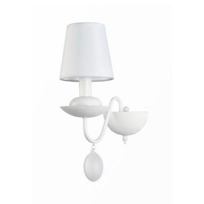 A2510AP-1WH Arte lamp СветильникСовременные<br><br><br>Тип цоколя: E14<br>Цвет арматуры: БЕЛЫЙ<br>Количество ламп: 1<br>Диаметр, мм мм: 130<br>Длина, мм: 250<br>Высота, мм: 380<br>MAX мощность ламп, Вт: 40W<br>Общая мощность, Вт: 40W