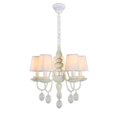 A2510LM-5WH Arte lamp СветильникПодвесные<br><br><br>Установка на натяжной потолок: Да<br>S освещ. до, м2: 10<br>Крепление: крюк<br>Тип лампы: Накаливания / энергосбережения / светодиодная<br>Тип цоколя: E14<br>Количество ламп: 5<br>MAX мощность ламп, Вт: 40W<br>Диаметр, мм мм: 530<br>Длина цепи/провода, мм: 700<br>Длина, мм: 530<br>Высота, мм: 550<br>Цвет арматуры: БЕЛЫЙ<br>Общая мощность, Вт: 40W
