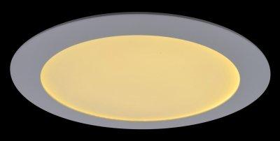 Точечный светильник Arte lamp A2620PL-1WH FineКруглые LED<br><br><br>S освещ. до, м2: 4<br>Тип товара: Светильник встраиваемый<br>Скидка, %: 8<br>Тип лампы: Светодиодная (LED)<br>Тип цоколя: LED<br>Количество ламп: 1<br>MAX мощность ламп, Вт: 20<br>Диаметр, мм мм: 300<br>Высота, мм: 25<br>Оттенок (цвет): белый<br>Цвет арматуры: белый