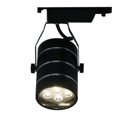 A2707PL-1BK Arte lamp СветильникСветильники для трека<br><br><br>Цветовая t, К: 4000K<br>Тип цоколя: LED<br>Количество ламп: 1<br>MAX мощность ламп, Вт: 7W<br>Диаметр, мм мм: 180<br>Размеры: ?72*H180<br>Длина, мм: 80<br>Высота, мм: 200<br>Цвет арматуры: ЧЕРНЫЙ<br>Общая мощность, Вт: 7W