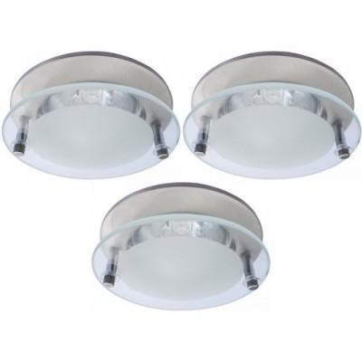 Светильник встраиваемый Arte lamp A2750PL-3SS TopicКруглые<br>Встраиваемые светильники – популярное осветительное оборудование, которое можно использовать в качестве основного источника или в дополнение к люстре. Они позволяют создать нужную атмосферу атмосферу и привнести в интерьер уют и комфорт.   Интернет-магазин «Светодом» предлагает стильный встраиваемый светильник ARTE Lamp A2750PL-3SS. Данная модель достаточно универсальна, поэтому подойдет практически под любой интерьер. Перед покупкой не забудьте ознакомиться с техническими параметрами, чтобы узнать тип цоколя, площадь освещения и другие важные характеристики.   Приобрести встраиваемый светильник ARTE Lamp A2750PL-3SS в нашем онлайн-магазине Вы можете либо с помощью «Корзины», либо по контактным номерам. Мы доставляем заказы по Москве, Екатеринбургу и остальным российским городам.<br><br>S освещ. до, м2: 10<br>Тип лампы: галогенная<br>Тип цоколя: GU10<br>Количество ламп: 3<br>Ширина, мм: 80<br>MAX мощность ламп, Вт: 50<br>Диаметр, мм мм: 80<br>Диаметр врезного отверстия, мм: 55<br>Высота, мм: 120<br>Цвет арматуры: серебристый