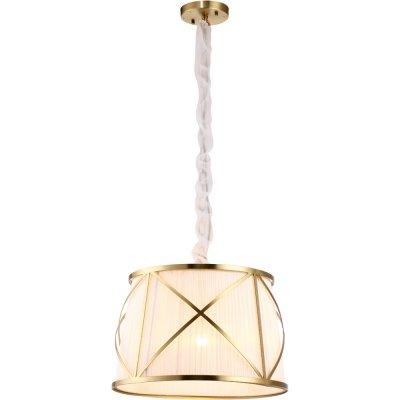 Подвесной светильник Arte lamp A2805SP-1WH VitruvioПодвесные<br><br><br>Установка на натяжной потолок: Да<br>S освещ. до, м2: 5<br>Крепление: Планка<br>Тип товара: Люстра подвесная<br>Скидка, %: 32<br>Тип лампы: накаливания / энергосбережения / LED-светодиодная<br>Тип цоколя: E27<br>Количество ламп: 1<br>MAX мощность ламп, Вт: 100<br>Диаметр, мм мм: 500<br>Длина цепи/провода, мм: 870<br>Высота, мм: 330<br>Оттенок (цвет): бежевый<br>Цвет арматуры: белый