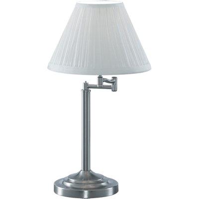Светильник настольный Arte lamp A2872LT-1SS CaliforniaС абажуром<br>Настольная лампа – это не просто источник дополнительного освещения, но и оригинальный элемент декора. Его можно установить в спальне, гостиной, кабинете и других комнатах. Интернет-магазин «Светодом» предлагает настольные лампы разных стилей по доступным ценам. Благодаря большому ассортименту Вы обязательно найдете в нашем каталоге именно ту модель, которую искали.   Настольная лампа Arte lamp A2872LT-1SS – прекрасный вариант для завершения интерьера. Ее можно включить одновременно с люстрой для более яркого освещения или без нее для создания уютной атмосферы, настраивающей на отдых.   Купить настольную лампу Arte lamp A2872LT-1SS Вы можете с помощью виртуальной «Корзины» или по контактным номерам, указанным на сайте.<br><br>S освещ. до, м2: 4<br>Тип лампы: накал-я - энергосбер-я<br>Тип цоколя: E27<br>Количество ламп: 1<br>Ширина, мм: 280<br>MAX мощность ламп, Вт: 60<br>Диаметр, мм мм: 390<br>Высота, мм: 550<br>Цвет арматуры: серый