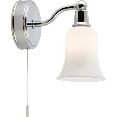 Светильник бра Arte lamp A2944AP-1CC AquaСовременные<br><br><br>S освещ. до, м2: 2<br>Тип лампы: галогенная / LED-светодиодная<br>Тип цоколя: G9<br>Количество ламп: 1<br>Ширина, мм: 90<br>MAX мощность ламп, Вт: 28<br>Длина, мм: 160<br>Высота, мм: 140<br>Оттенок (цвет): белый<br>Цвет арматуры: серебристый