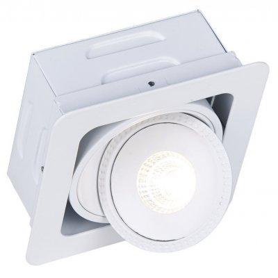 Светильник встраиваемый Arte lamp A3007PL-1WH STUDIOСветодиодные квадратные светильники<br>Встраиваемые светильники – популярное осветительное оборудование, которое можно использовать в качестве основного источника или в дополнение к люстре. Они позволяют создать нужную атмосферу атмосферу и привнести в интерьер уют и комфорт. <br> Интернет-магазин «Светодом» предлагает стильный встраиваемый светильник ARTE Lamp A3007PL-1WH. Данная модель достаточно универсальна, поэтому подойдет практически под любой интерьер. Перед покупкой не забудьте ознакомиться с техническими параметрами, чтобы узнать тип цоколя, площадь освещения и другие важные характеристики. <br> Приобрести встраиваемый светильник ARTE Lamp A3007PL-1WH в нашем онлайн-магазине Вы можете либо с помощью «Корзины», либо по контактным номерам. Мы развозим заказы по Москве, Екатеринбургу и остальным российским городам.<br><br>Тип лампы: LED<br>Тип цоколя: LED<br>Цвет арматуры: белый<br>Количество ламп: 1<br>Размеры: H7,3xW12xL12<br>MAX мощность ламп, Вт: 7