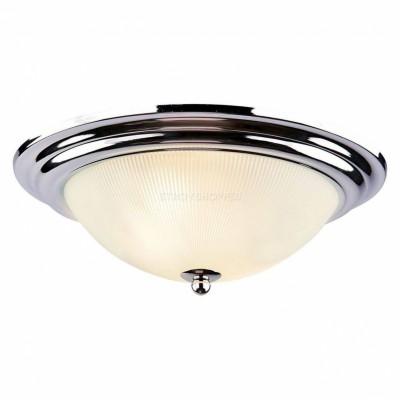 Светильник потолочный Arte lamp A3011PL-2SS ALTAПотолочные<br><br><br>Установка на натяжной потолок: Ограничено<br>S освещ. до, м2: 4<br>Крепление: Планка<br>Тип лампы: Накаливания / энергосбережения / светодиодная<br>Тип цоколя: E27<br>Количество ламп: 2<br>MAX мощность ламп, Вт: 40<br>Диаметр, мм мм: 280<br>Размеры: H11xW28xL28<br>Высота, мм: 110<br>Цвет арматуры: серебристый