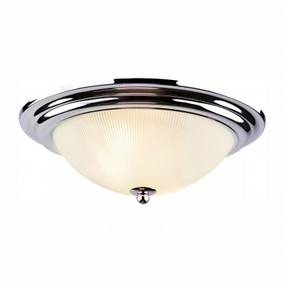Светильник потолочный Arte lamp A3012PL-2CC ALTAПотолочные<br><br><br>Установка на натяжной потолок: Ограничено<br>S освещ. до, м2: 4<br>Крепление: Планка<br>Тип лампы: Накаливания / энергосбережения / светодиодная<br>Тип цоколя: E27<br>Цвет арматуры: серебристый<br>Количество ламп: 2<br>Диаметр, мм мм: 280<br>Размеры: H11xW28xL28<br>Высота, мм: 110<br>MAX мощность ламп, Вт: 40