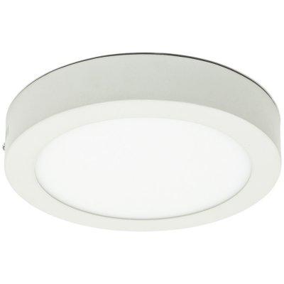Потолочный светильник Arte lamp A3018PL-1WH AngoloКруглые<br><br><br>S освещ. до, м2: 4<br>Тип товара: Светильник настенно-потолочный<br>Скидка, %: 18<br>Тип лампы: LED - светодиодная<br>Тип цоколя: LED<br>Количество ламп: 1<br>MAX мощность ламп, Вт: 18<br>Диаметр, мм мм: 220<br>Высота, мм: 40<br>Оттенок (цвет): белый<br>Цвет арматуры: белый