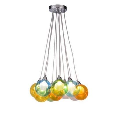 A3026SP-11CC Arte lamp СветильникПодвесные<br><br><br>Установка на натяжной потолок: Да<br>S освещ. до, м2: 22<br>Крепление: Планка<br>Тип лампы: галогенная/LED<br>Тип цоколя: G9 LED<br>Цвет арматуры: Серебристый хром<br>Количество ламп: 11<br>Диаметр, мм мм: 420<br>Длина цепи/провода, мм: 1000<br>Размеры: glass size 10-11cm<br>Длина, мм: 420<br>Высота, мм: 130<br>MAX мощность ламп, Вт: 5W<br>Общая мощность, Вт: 5W