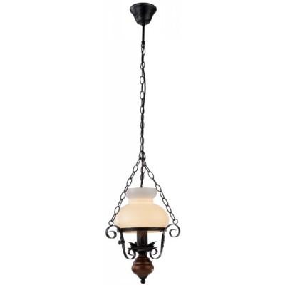 Светильник Arte lamp A3030SP-1BR JoyПодвесные<br><br><br>Установка на натяжной потолок: Да<br>S освещ. до, м2: 4<br>Крепление: Крюк<br>Тип товара: Люстра подвесная<br>Скидка, %: 8<br>Тип лампы: накаливания / энергосбережения / LED-светодиодная<br>Тип цоколя: E27<br>Количество ламп: 1<br>Ширина, мм: 320<br>MAX мощность ламп, Вт: 60<br>Диаметр, мм мм: 320<br>Длина цепи/провода, мм: 750<br>Высота, мм: 360<br>Цвет арматуры: коричневый