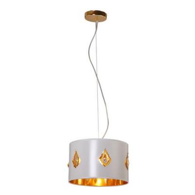 Светильник подвесной Arte lamp A3050SP-1WH IstanbulАрхив<br><br><br>S освещ. до, м2: 3<br>Крепление: пластина<br>Тип лампы: накаливания / энергосбережения / LED-светодиодная<br>Тип цоколя: E27<br>Цвет арматуры: золото<br>Количество ламп: 1<br>Ширина, мм: 300<br>Диаметр, мм мм: 300<br>Длина цепи/провода, мм: 800<br>Высота, мм: 200<br>MAX мощность ламп, Вт: 40