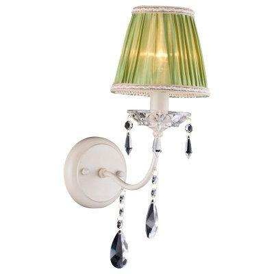 Светильник Arte lamp A3082AP-1WG VEILКлассика<br><br><br>Тип лампы: накал-я - энергосбер-я<br>Тип цоколя: E14<br>Количество ламп: 1<br>Ширина, мм: 240<br>MAX мощность ламп, Вт: 60<br>Длина, мм: 150<br>Высота, мм: 410<br>Цвет арматуры: белый