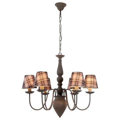 Люстра подвесная Arte lamp A3090LM-6GY ScotchПодвесные<br>Компания «Светодом» предлагает широкий ассортимент люстр от известных производителей. Представленные в нашем каталоге товары выполнены из современных материалов и обладают отличным качеством. Благодаря широкому ассортименту Вы сможете найти у нас люстру под любой интерьер. Мы предлагаем как классические варианты, так и современные модели, отличающиеся лаконичностью и простотой форм.  Стильная люстра Arte lamp A3090LM-6GY станет украшением любого дома. Эта модель от известного производителя не оставит равнодушным ценителей красивых и оригинальных предметов интерьера. Люстра Arte lamp A3090LM-6GY обеспечит равномерное распределение света по всей комнате. При выборе обратите внимание на характеристики, позволяющие приобрести наиболее подходящую модель. Купить понравившуюся люстру по доступной цене Вы можете в интернет-магазине «Светодом».<br><br>Установка на натяжной потолок: Да<br>S освещ. до, м2: 16<br>Крепление: Крюк<br>Тип лампы: накаливания / энергосбережения / LED-светодиодная<br>Тип цоколя: E14<br>Количество ламп: 6<br>Ширина, мм: 700<br>MAX мощность ламп, Вт: 40<br>Диаметр, мм мм: 700<br>Длина цепи/провода, мм: 900<br>Высота, мм: 570<br>Цвет арматуры: серый