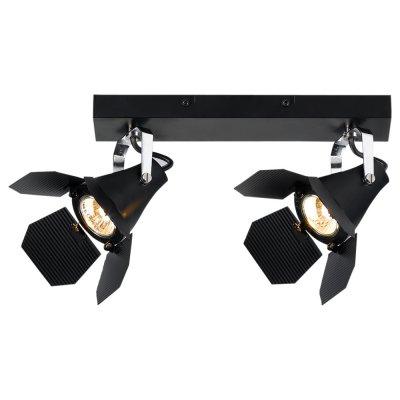 Светильник Arte lamp A3092AP-2BK CINEMAДвойные<br>Светильники-споты – это оригинальные изделия с современным дизайном. Они позволяют не ограничивать свою фантазию при выборе освещения для интерьера. Такие модели обеспечивают достаточно качественный свет. Благодаря компактным размерам Вы можете использовать несколько спотов для одного помещения.  Интернет-магазин «Светодом» предлагает необычный светильник-спот ARTE Lamp A3092AP-2BK по привлекательной цене. Эта модель станет отличным дополнением к люстре, выполненной в том же стиле. Перед оформлением заказа изучите характеристики изделия.  Купить светильник-спот ARTE Lamp A3092AP-2BK в нашем онлайн-магазине Вы можете либо с помощью формы на сайте, либо по указанным выше телефонам. Обратите внимание, что у нас склады не только в Москве и Екатеринбурге, но и других городах России.<br><br>Тип лампы: галогенная/LED<br>Тип цоколя: GU10<br>Количество ламп: 2<br>Ширина, мм: 90<br>MAX мощность ламп, Вт: 50<br>Длина, мм: 390<br>Высота, мм: 130<br>Цвет арматуры: черный
