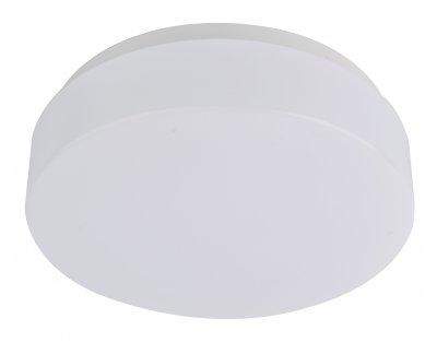 Светильник пластиковый Arte Lamp A3106PL-1WHкруглые светильники<br>Светильник пластиковый Arte Lamp A3106PL-1WH сделает Ваш интерьер современным, стильным и запоминающимся! Наиболее функционально и эстетически привлекательно модель будет смотреться в гостиной, зале, холле или другой комнате. А в комплекте с люстрой и торшером из этой же коллекции, сделает помещение по-дизайнерски профессиональным и законченным.