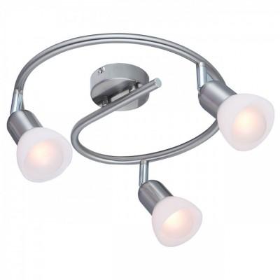 Светильник Arte lamp A3115PL-3SS FALENAТройные<br>Светильники-споты – это оригинальные изделия с современным дизайном. Они позволяют не ограничивать свою фантазию при выборе освещения для интерьера. Такие модели обеспечивают достаточно качественный свет. Благодаря компактным размерам Вы можете использовать несколько спотов для одного помещения. <br>Интернет-магазин «Светодом» предлагает необычный светильник-спот ARTE Lamp A3115PL-3SS по привлекательной цене. Эта модель станет отличным дополнением к люстре, выполненной в том же стиле. Перед оформлением заказа изучите характеристики изделия. <br>Купить светильник-спот ARTE Lamp A3115PL-3SS в нашем онлайн-магазине Вы можете либо с помощью формы на сайте, либо по указанным выше телефонам. Обратите внимание, что у нас склады не только в Москве и Екатеринбурге, но и других городах России.<br><br>S освещ. до, м2: 6<br>Тип цоколя: 40W<br>Цвет арматуры: серебристый<br>Количество ламп: 3<br>Размеры: H18xW30xL30<br>MAX мощность ламп, Вт: E14