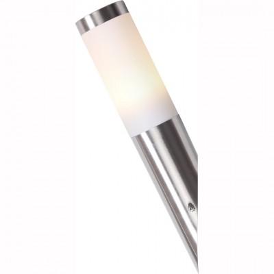 Светильник Arte lamp A3157AL-1SS SALIREНастенные<br>Обеспечение качественного уличного освещения – важная задача для владельцев коттеджей. Компания «Светодом» предлагает современные светильники, которые порадуют Вас отличным исполнением. В нашем каталоге представлена продукция известных производителей, пользующихся популярностью благодаря высокому качеству выпускаемых товаров.   Уличный светильник Arte lamp A3157AL-1SS не просто обеспечит качественное освещение, но и станет украшением Вашего участка. Модель выполнена из современных материалов и имеет влагозащитный корпус, благодаря которому ей не страшны осадки.   Купить уличный светильник Arte lamp A3157AL-1SS, представленный в нашем каталоге, можно с помощью онлайн-формы для заказа. Чтобы задать имеющиеся вопросы, звоните нам по указанным телефонам.<br><br>Тип лампы: Накаливания / энергосбережения / светодиодная<br>Тип цоколя: E27<br>Количество ламп: 1<br>MAX мощность ламп, Вт: 60<br>Размеры: H39,5xW7,5xL7,5<br>Цвет арматуры: серебристый