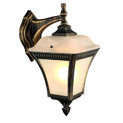 Светильник уличный Arte lamp A3161AL-1BN MEMPHISУличные настенные светильники<br>Обеспечение качественного уличного освещения – важная задача для владельцев коттеджей. Компания «Светодом» предлагает современные светильники, которые порадуют Вас отличным исполнением. В нашем каталоге представлена продукция известных производителей, пользующихся популярностью благодаря высокому качеству выпускаемых товаров. <br> Уличный светильник Arte lamp A3161AL-1BN не просто обеспечит качественное освещение, но и станет украшением Вашего участка. Модель выполнена из современных материалов и имеет влагозащитный корпус, благодаря которому ей не страшны осадки. <br> Купить уличный светильник Arte lamp A3161AL-1BN, представленный в нашем каталоге, можно с помощью онлайн-формы для заказа. Чтобы задать имеющиеся вопросы, звоните нам по указанным телефонам.<br><br>Тип лампы: Накаливания / энергосбережения / светодиодная<br>Тип цоколя: E27<br>Цвет арматуры: золотой<br>Количество ламп: 1<br>Размеры: H37,5xW18xL24<br>MAX мощность ламп, Вт: 60