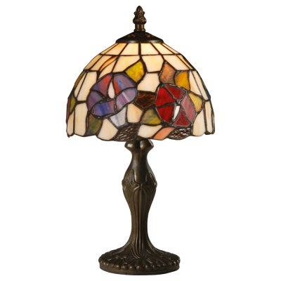 Настольная лампа тиффани Arte lamp A3165LT-1BG FlorizelТиффани<br>Настольная лампа – это не просто источник дополнительного освещения, но и оригинальный элемент декора. Его можно установить в спальне, гостиной, кабинете и других комнатах. Интернет-магазин «Светодом» предлагает настольные лампы разных стилей по доступным ценам. Благодаря большому ассортименту Вы обязательно найдете в нашем каталоге именно ту модель, которую искали. <br> Настольная лампа Arte lamp A3165LT-1BG – прекрасный вариант для завершения интерьера. Ее можно включить одновременно с люстрой для более яркого освещения или без нее для создания уютной атмосферы, настраивающей на отдых. <br> Купить настольную лампу Arte lamp A3165LT-1BG Вы можете с помощью виртуальной «Корзины» или по контактным номерам, указанным на сайте.<br><br>S освещ. до, м2: 3<br>Тип лампы: накаливания / энергосбережения / LED-светодиодная<br>Тип цоколя: E27<br>Количество ламп: 1<br>Ширина, мм: 200<br>Диаметр, мм мм: 200<br>Высота, мм: 350<br>MAX мощность ламп, Вт: 40