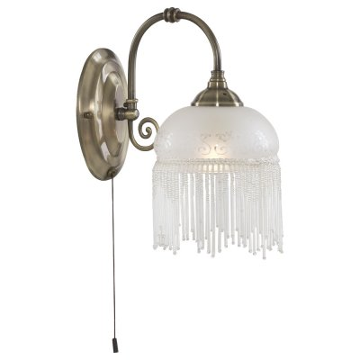 Светильник бра Arte Lamp A3191AP-1AB VictorianaРустика<br><br><br>S освещ. до, м2: 4<br>Тип лампы: накаливания / энергосбережения / LED-светодиодная<br>Тип цоколя: E27<br>Количество ламп: 1<br>Ширина, мм: 150<br>MAX мощность ламп, Вт: 60<br>Диаметр, мм мм: 250<br>Высота, мм: 280<br>Цвет арматуры: бронзовый