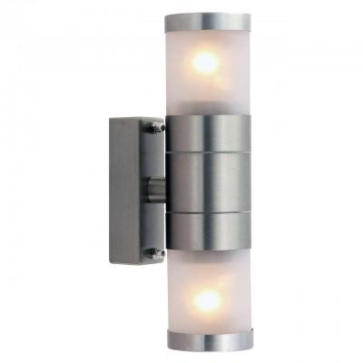 Светильник Arte lamp A3201AL-2SS RAPIDOНастенные<br>Обеспечение качественного уличного освещения – важная задача для владельцев коттеджей. Компания «Светодом» предлагает современные светильники, которые порадуют Вас отличным исполнением. В нашем каталоге представлена продукция известных производителей, пользующихся популярностью благодаря высокому качеству выпускаемых товаров.   Уличный светильник Arte lamp A3201AL-2SS не просто обеспечит качественное освещение, но и станет украшением Вашего участка. Модель выполнена из современных материалов и имеет влагозащитный корпус, благодаря которому ей не страшны осадки.   Купить уличный светильник Arte lamp A3201AL-2SS, представленный в нашем каталоге, можно с помощью онлайн-формы для заказа. Чтобы задать имеющиеся вопросы, звоните нам по указанным телефонам. Мы доставим Ваш заказ не только в Москву и Екатеринбург, но и другие города.<br><br>Тип лампы: Накаливания / энергосбережения / светодиодная<br>Тип цоколя: E27<br>Количество ламп: 2<br>MAX мощность ламп, Вт: 60<br>Размеры: H23xW6xL9,5<br>Цвет арматуры: серебристый