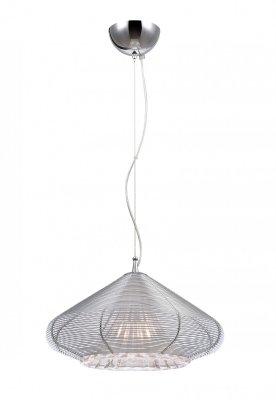 Подвесной светильник Arte lamp A3209SP-1CC Ufoснятые с производства светильники<br><br><br>S освещ. до, м2: 2<br>Крепление: монтажная пластина<br>Тип лампы: накаливания / энергосбережения / LED-светодиодная<br>Тип цоколя: E27<br>Цвет арматуры: Хром, Серый<br>Количество ламп: 1<br>Диаметр, мм мм: 400<br>Длина цепи/провода, мм: 640<br>Высота, мм: 240<br>Оттенок (цвет): серый<br>MAX мощность ламп, Вт: 40