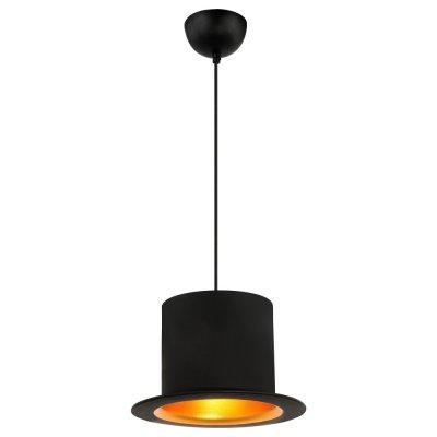 Светильник Arte lamp A3236SP-1BK шляпа CAPPELLOПодвесные<br>Компания «Светодом» предлагает широкий ассортимент люстр от известных производителей. Представленные в нашем каталоге товары выполнены из современных материалов и обладают отличным качеством. Благодаря широкому ассортименту Вы сможете найти у нас люстру под любой интерьер. Мы предлагаем как классические варианты, так и современные модели, отличающиеся лаконичностью и простотой форм. <br>Стильная люстра Arte lamp A3236SP-1BK станет украшением любого дома. Эта модель от известного производителя не оставит равнодушным ценителей красивых и оригинальных предметов интерьера. Люстра Arte lamp A3236SP-1BK обеспечит равномерное распределение света по всей комнате. При выборе обратите внимание на характеристики, позволяющие приобрести наиболее подходящую модель. <br>Купить понравившуюся люстру по доступной цене Вы можете в интернет-магазине «Светодом».<br><br>Установка на натяжной потолок: Да<br>S освещ. до, м2: 2<br>Крепление: Крюк<br>Тип лампы: Накаливания / энергосбережения / светодиодная<br>Тип цоколя: E27<br>Цвет арматуры: черный<br>Количество ламп: 1<br>Диаметр, мм мм: 250<br>Высота, мм: 190<br>MAX мощность ламп, Вт: 40