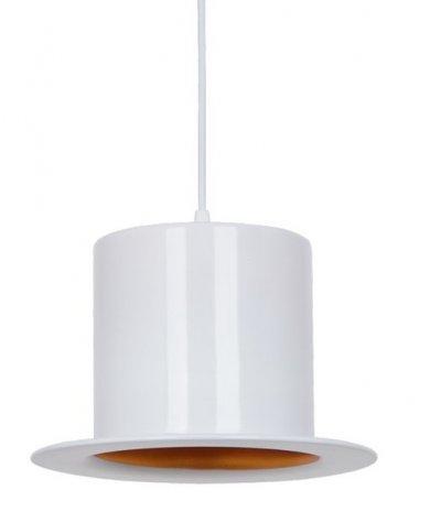 Светильник подвесной Arte lamp A3236SP-1WH CAPPELLOОдиночные<br><br><br>Тип товара: Светильник подвесной<br>Тип лампы: Накаливания / энергосбережения / светодиодная<br>Тип цоколя: E27<br>Количество ламп: 1<br>MAX мощность ламп, Вт: 60<br>Размеры: H20xW25xL26+шн/цп110<br>Цвет арматуры: белый