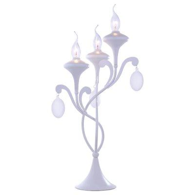 Светильник настольный Arte lamp A3239LT-3WH MontmartreКлассические<br>Настольная лампа – это не просто источник дополнительного освещения, но и оригинальный элемент декора. Его можно установить в спальне, гостиной, кабинете и других комнатах. Интернет-магазин «Светодом» предлагает настольные лампы разных стилей по доступным ценам. Благодаря большому ассортименту Вы обязательно найдете в нашем каталоге именно ту модель, которую искали.   Настольная лампа Arte lamp A3239LT-3WH – прекрасный вариант для завершения интерьера. Ее можно включить одновременно с люстрой для более яркого освещения или без нее для создания уютной атмосферы, настраивающей на отдых.   Купить настольную лампу Arte lamp A3239LT-3WH Вы можете с помощью виртуальной «Корзины» или по контактным номерам, указанным на сайте.<br><br>S освещ. до, м2: 8<br>Тип лампы: накал-я - энергосбер-я<br>Тип цоколя: E14<br>Количество ламп: 3<br>Ширина, мм: 320<br>MAX мощность ламп, Вт: 40<br>Диаметр, мм мм: 320<br>Высота, мм: 550