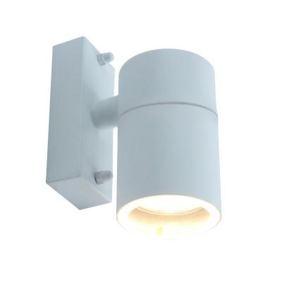 A3302AL-1WH Arte lamp СветильникНастенные<br><br><br>Тип лампы: галогенная/LED<br>Тип цоколя: GU10<br>Цвет арматуры: БЕЛЫЙ<br>Количество ламп: 1<br>Диаметр, мм мм: 60<br>Размеры: 13*10*6<br>Длина, мм: 110<br>Высота, мм: 130<br>MAX мощность ламп, Вт: 50W<br>Общая мощность, Вт: 50W