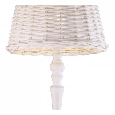 Торшер Arte lamp A3400PN-1WH VillaggioМодерн<br><br><br>S освещ. до, м2: 2<br>Тип товара: Торшер<br>Скидка, %: 8<br>Тип лампы: накаливания / энергосбережения / LED-светодиодная<br>Тип цоколя: E27<br>Количество ламп: 1<br>MAX мощность ламп, Вт: 40<br>Диаметр, мм мм: 400<br>Высота, мм: 1500<br>Оттенок (цвет): белый<br>Цвет арматуры: белый