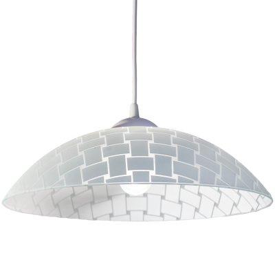 Светильник Arte lamp A3421SP-1WH CucinaОдиночные<br><br><br>Тип товара: Светильник подвесной<br>Тип лампы: накаливания / энергосбережения / LED-светодиодная<br>Тип цоколя: E27<br>MAX мощность ламп, Вт: 60<br>Диаметр, мм мм: 360<br>Высота, мм: 130 - 800