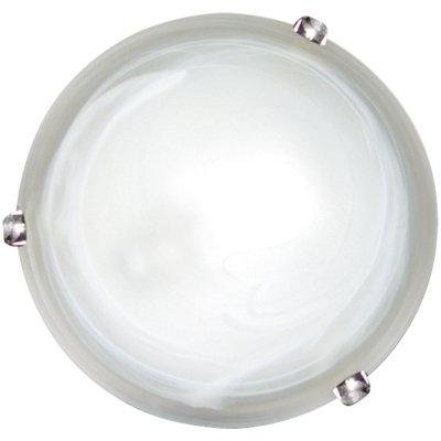 Светильник Arte Lamp A3430AP-1CC Symphonyкруглые светильники<br>Настенно потолочный светильник ARTE Lamp (арте ламп) A3430AP-1CC подходит как для установки в вертикальном положении - на стены, так и для установки в горизонтальном - на потолок. Для установки настенно потолочных светильников на натяжной потолок необходимо использовать светодиодные лампы LED, которые экономнее ламп Ильича (накаливания) в 10 раз, выделяют мало тепла и не дадут расплавиться Вашему потолку.<br><br>S освещ. до, м2: 4<br>Тип лампы: накаливания / энергосбережения / LED-светодиодная<br>Тип цоколя: E27<br>Цвет арматуры: серебристый<br>Количество ламп: 1<br>Ширина, мм: 300<br>Диаметр, мм мм: 300<br>Высота, мм: 100<br>MAX мощность ламп, Вт: 60