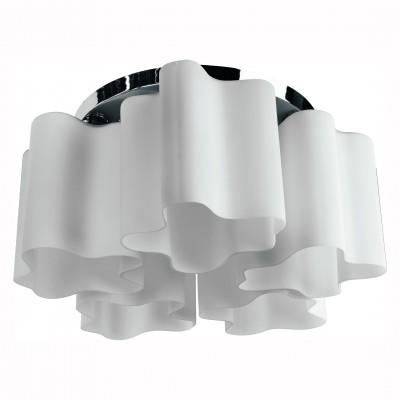 Светильник потолочный Arte lamp A3479PL-5CC SERENATAПотолочные<br>Компания «Светодом» предлагает широкий ассортимент люстр от известных производителей. Представленные в нашем каталоге товары выполнены из современных материалов и обладают отличным качеством. Благодаря широкому ассортименту Вы сможете найти у нас люстру под любой интерьер. Мы предлагаем как классические варианты, так и современные модели, отличающиеся лаконичностью и простотой форм. <br>Стильная люстра Arte lamp A3479PL-5CC станет украшением любого дома. Эта модель от известного производителя не оставит равнодушным ценителей красивых и оригинальных предметов интерьера. Люстра Arte lamp A3479PL-5CC обеспечит равномерное распределение света по всей комнате. При выборе обратите внимание на характеристики, позволяющие приобрести наиболее подходящую модель. <br>Купить понравившуюся люстру по доступной цене Вы можете в интернет-магазине «Светодом».<br><br>Установка на натяжной потолок: Ограничено<br>S освещ. до, м2: 10<br>Крепление: Планка<br>Тип лампы: Накаливания / энергосбережения / светодиодная<br>Тип цоколя: E27<br>Цвет арматуры: серебристый<br>Количество ламп: 5<br>Диаметр, мм мм: 510<br>Размеры: H27xW51xL51<br>Высота, мм: 270<br>MAX мощность ламп, Вт: 40