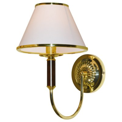 Настенный бра Arte lamp A3545AP-1GO CathrineКлассические<br><br><br>S освещ. до, м2: 4<br>Тип лампы: накаливания / энергосбережения / LED-светодиодная<br>Тип цоколя: E14<br>Количество ламп: 1<br>Ширина, мм: 210<br>Диаметр, мм мм: 290<br>Высота, мм: 330<br>MAX мощность ламп, Вт: 60