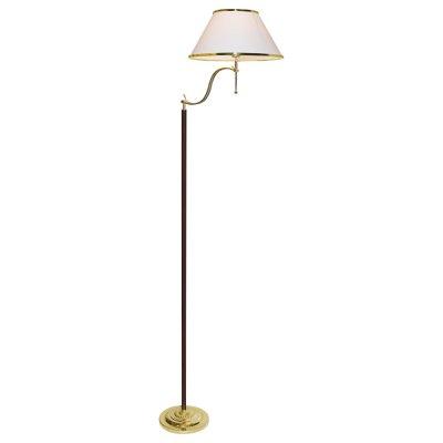 Торшер с абажуром Arte lamp A3545PN-1GO CathrineС абажуром<br><br><br>S освещ. до, м2: 7<br>Тип товара: Торшер<br>Скидка, %: 14<br>Тип лампы: накаливания / энергосбережения / LED-светодиодная<br>Тип цоколя: E27<br>Количество ламп: 1<br>Ширина, мм: 450<br>MAX мощность ламп, Вт: 100<br>Диаметр, мм мм: 660<br>Высота, мм: 1600