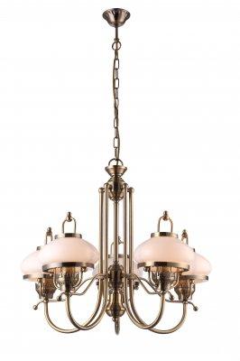 Люстра Arte lamp A3560LM-5AB ArmstrongПодвесные<br>Компания «Светодом» предлагает широкий ассортимент люстр от известных производителей. Представленные в нашем каталоге товары выполнены из современных материалов и обладают отличным качеством. Благодаря широкому ассортименту Вы сможете найти у нас люстру под любой интерьер. Мы предлагаем как классические варианты, так и современные модели, отличающиеся лаконичностью и простотой форм. <br>Стильная люстра Arte lamp A3560LM-5AB станет украшением любого дома. Эта модель от известного производителя не оставит равнодушным ценителей красивых и оригинальных предметов интерьера. Люстра Arte lamp A3560LM-5AB обеспечит равномерное распределение света по всей комнате. При выборе обратите внимание на характеристики, позволяющие приобрести наиболее подходящую модель. <br>Купить понравившуюся люстру по доступной цене Вы можете в интернет-магазине «Светодом».<br><br>Установка на натяжной потолок: Да<br>S освещ. до, м2: 20<br>Крепление: Крюк<br>Тип лампы: накаливания / энергосбережения / LED-светодиодная<br>Тип цоколя: E27<br>Цвет арматуры: бронзовый<br>Количество ламп: 5<br>Ширина, мм: 660<br>Диаметр, мм мм: 660<br>Длина цепи/провода, мм: 550<br>Высота, мм: 600<br>MAX мощность ламп, Вт: 60