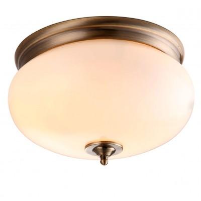 Светильник Arte lamp A3560PL-2AB ArmstrongКруглые<br>Настенно-потолочные светильники – это универсальные осветительные варианты, которые подходят для вертикального и горизонтального монтажа. В интернет-магазине «Светодом» Вы можете приобрести подобные модели по выгодной стоимости. В нашем каталоге представлены как бюджетные варианты, так и эксклюзивные изделия от производителей, которые уже давно заслужили доверие дизайнеров и простых покупателей.  Настенно-потолочный светильник ARTELamp A3560PL-2AB станет прекрасным дополнением к основному освещению. Благодаря качественному исполнению и применению современных технологий при производстве эта модель будет радовать Вас своим привлекательным внешним видом долгое время. Приобрести настенно-потолочный светильник ARTELamp A3560PL-2AB можно, находясь в любой точке России.<br><br>S освещ. до, м2: 8<br>Тип лампы: накаливания / энергосбережения / LED-светодиодная<br>Тип цоколя: E27<br>Количество ламп: 2<br>Ширина, мм: 310<br>Диаметр, мм мм: 310<br>Высота, мм: 180<br>MAX мощность ламп, Вт: 60