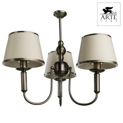 Люстра Arte lamp A3579LM-3AB Aliceлюстры подвесные классические<br>Компания «Светодом» предлагает широкий ассортимент люстр от известных производителей. Представленные в нашем каталоге товары выполнены из современных материалов и обладают отличным качеством. Благодаря широкому ассортименту Вы сможете найти у нас люстру под любой интерьер. Мы предлагаем как классические варианты, так и современные модели, отличающиеся лаконичностью и простотой форм. <br>Стильная люстра Arte lamp A3579LM-3AB станет украшением любого дома. Эта модель от известного производителя не оставит равнодушным ценителей красивых и оригинальных предметов интерьера. Люстра Arte lamp A3579LM-3AB обеспечит равномерное распределение света по всей комнате. При выборе обратите внимание на характеристики, позволяющие приобрести наиболее подходящую модель. <br>Купить понравившуюся люстру по доступной цене Вы можете в интернет-магазине «Светодом».<br><br>Установка на натяжной потолок: Да<br>S освещ. до, м2: 8<br>Крепление: Крюк<br>Тип лампы: накаливания / энергосбережения / LED-светодиодная<br>Тип цоколя: E14<br>Цвет арматуры: бронзовый<br>Количество ламп: 3<br>Ширина, мм: 550<br>Диаметр, мм мм: 550<br>Длина цепи/провода, мм: 1000<br>Высота, мм: 440<br>MAX мощность ламп, Вт: 40