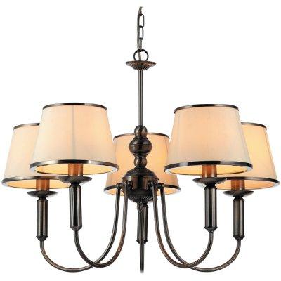 Люстра Arte lamp A3579LM-5AB AliceПодвесные<br>Компания «Светодом» предлагает широкий ассортимент люстр от известных производителей. Представленные в нашем каталоге товары выполнены из современных материалов и обладают отличным качеством. Благодаря широкому ассортименту Вы сможете найти у нас люстру под любой интерьер. Мы предлагаем как классические варианты, так и современные модели, отличающиеся лаконичностью и простотой форм.   Стильная люстра Arte lamp A3579LM-5AB станет украшением любого дома. Эта модель от известного производителя не оставит равнодушным ценителей красивых и оригинальных предметов интерьера. Люстра Arte lamp A3579LM-5AB обеспечит равномерное распределение света по всей комнате. При выборе обратите внимание на характеристики, позволяющие приобрести наиболее подходящую модель.   Купить понравившуюся люстру по доступной цене Вы можете в интернет-магазине «Светодом».<br><br>Установка на натяжной потолок: Да<br>S освещ. до, м2: 10<br>Крепление: Крюк<br>Тип лампы: накаливания / энергосбережения / LED-светодиодная<br>Тип цоколя: E14<br>Количество ламп: 5<br>Ширина, мм: 620<br>MAX мощность ламп, Вт: 40<br>Диаметр, мм мм: 620<br>Длина цепи/провода, мм: 1000<br>Высота, мм: 460<br>Цвет арматуры: бронзовый