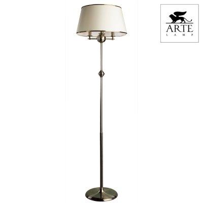 Торшер с абажуром Arte lamp A3579PN-3AB AliceС абажуром<br>Торшер – это не просто функциональный предмет интерьера, позволяющий обеспечить дополнительное освещение, но и оригинальный декоративный элемент. Интернет-магазин «Светодом» предлагает стильные модели от известных производителей по доступным ценам. У нас Вы найдете и классические напольные светильники, и современные варианты. <br> Торшер A3579PN-3AB ARTELamp сразу же привлекает внимание благодаря своему необычному дизайну. Модель выполнена из качественных материалов, что обеспечит ее надежную и долговечную работу. Такой напольный светильник можно использовать для интерьера не только гостиной, но и спальни или кабинета. <br> Купить торшер A3579PN-3AB ARTELamp по выгодной стоимости Вы можете с помощью нашего сайта. Мы доставляем заказы по Москве, Екатеринбургу и другим городам России.<br><br>S освещ. до, м2: 8<br>Тип лампы: накаливания / энергосбережения / LED-светодиодная<br>Тип цоколя: E14<br>Количество ламп: 3<br>Ширина, мм: 450<br>MAX мощность ламп, Вт: 40<br>Диаметр, мм мм: 450<br>Высота, мм: 1650<br>Цвет арматуры: бронзовый